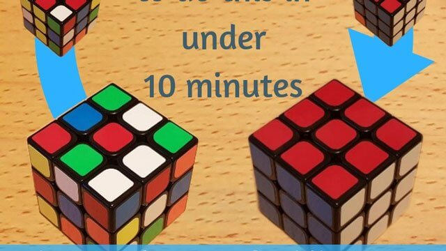 How to Solve the Rubiks Cube in 5 easy stages-yangyanghub