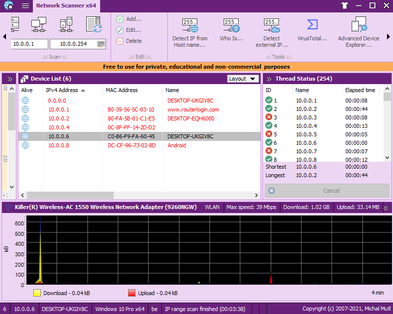 MiTeC Network Scanner 5.6.0 Freeware-yangyanghub