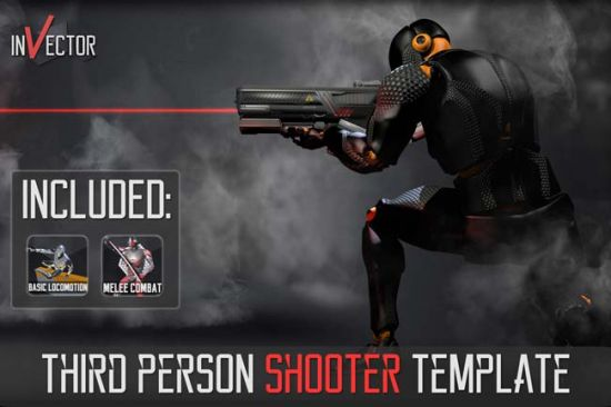 Unity Asset Third Person Controller Shooter Template v2.5.6-yangyanghub